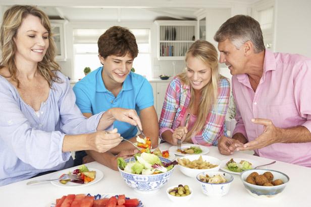 Faites votre part pour que votre famille soit heureuse